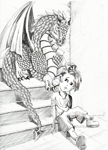 stairs-flame-the-dragon